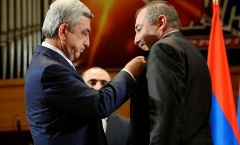 Serzh Sargsyan awarded the hate promoter MP